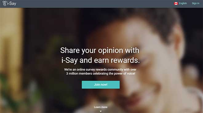 ipsos i-say share your opinion and earn rewards