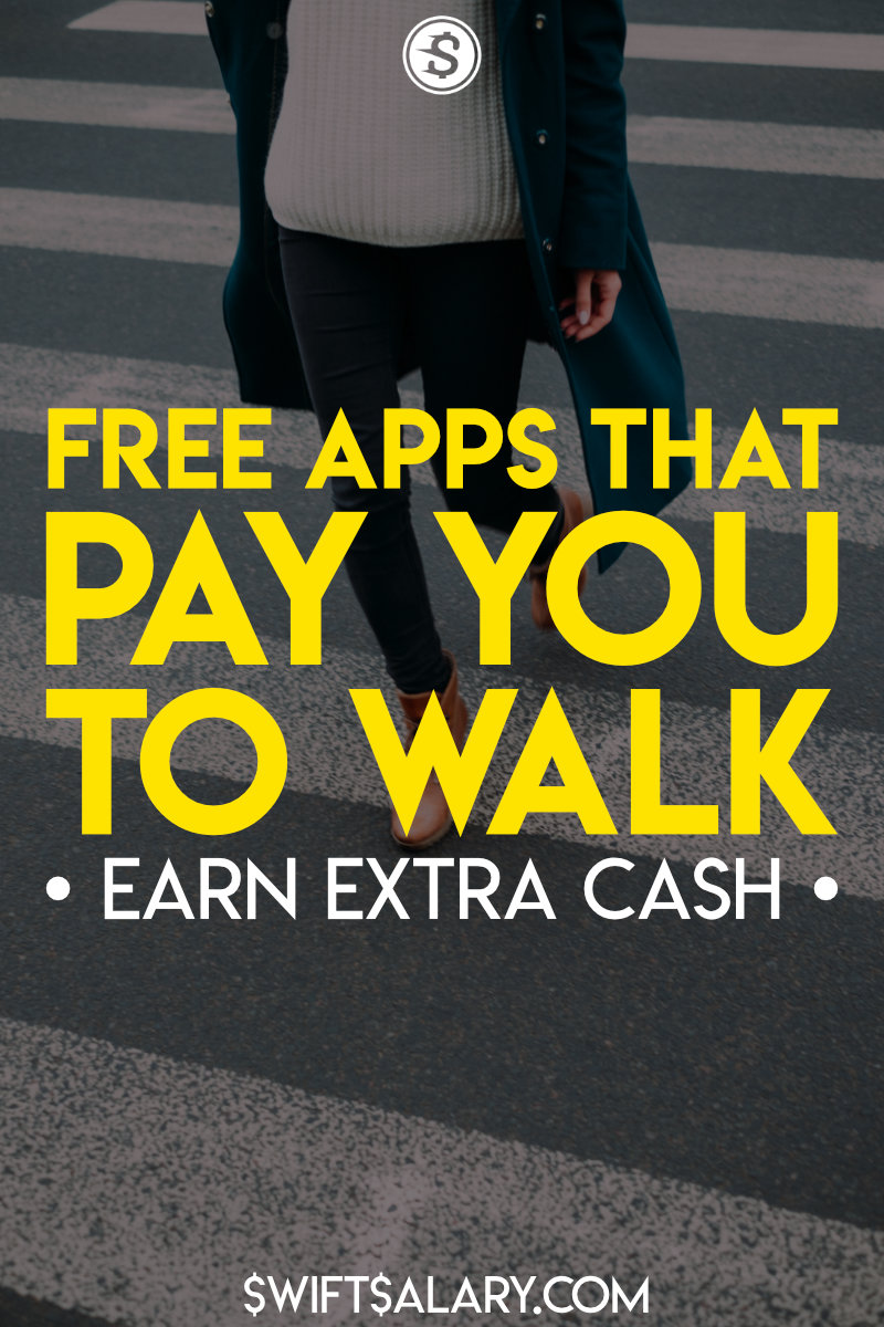 Free apps that pay you to walk (pinterest)