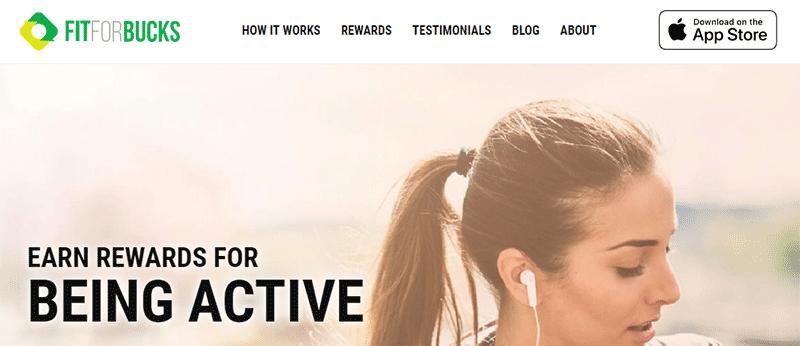 FitForBucks homepage