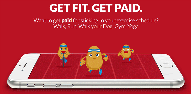 Get paid to walk with FitPotato