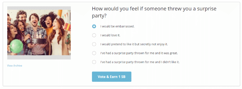 How would you feel if someone threw you a surprise party?