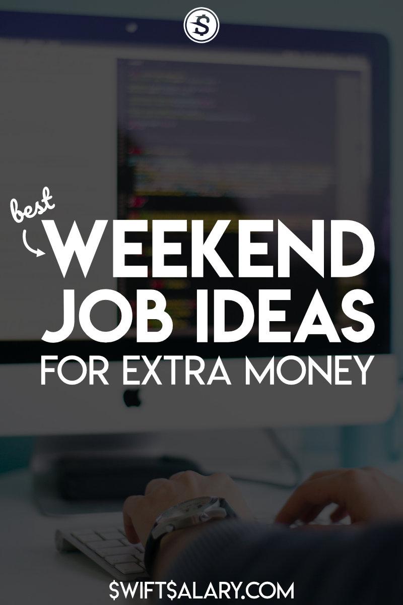 Best weekend job ideas for extra money