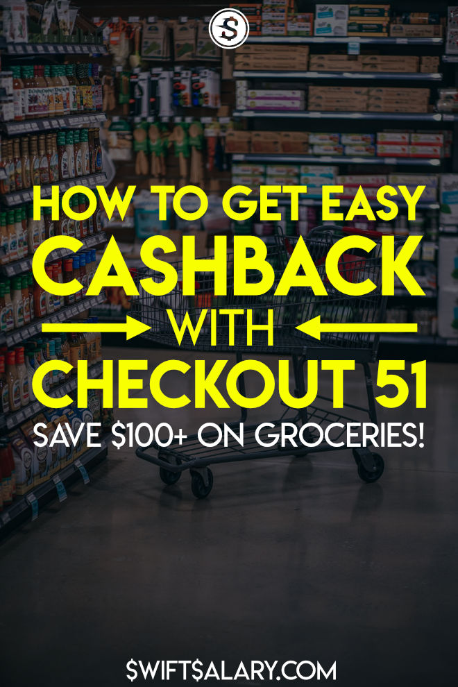 How to earn cashback with Checkout 51