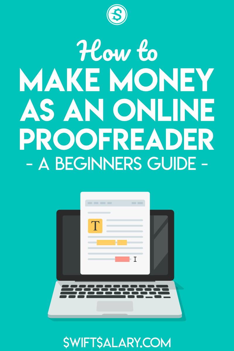 How to make money as an online proofreader: a beginner's guide