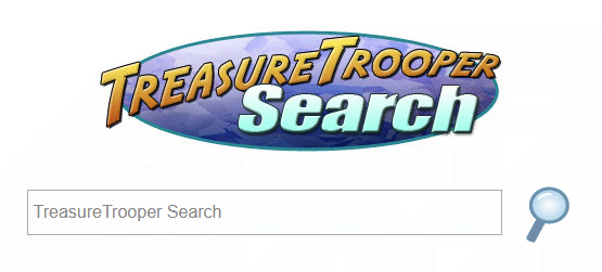 Treasure Trooper Search engine