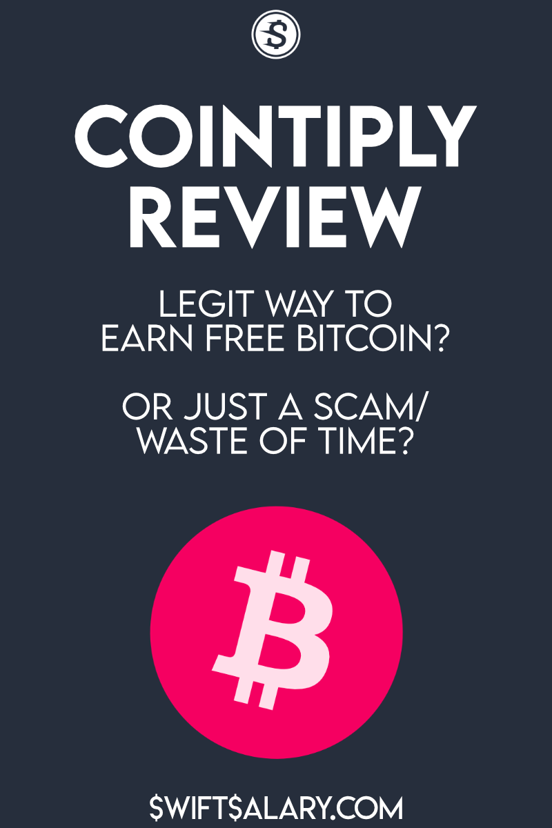 Cointiply review: Legit way to earn free bitcoin? Or just a scam/waste of time?