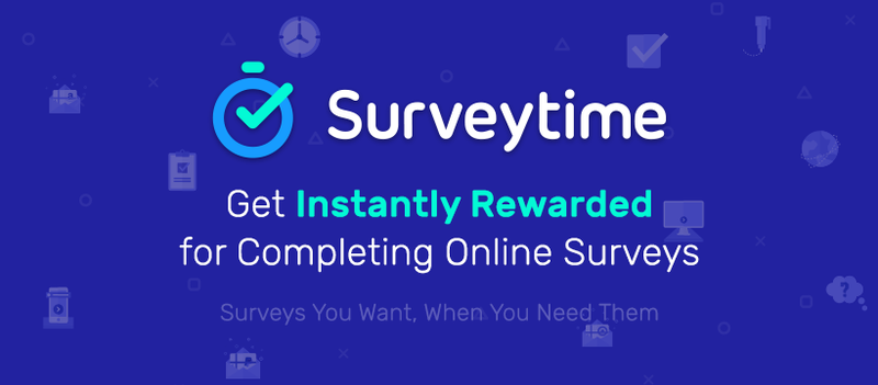Get instantly rewarded for completing online surveys