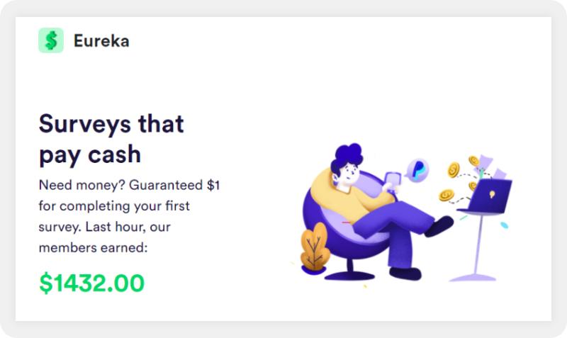 Eureka surveys that pay cash