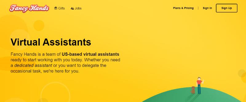 Fancy Hands virtual assistant tasks
