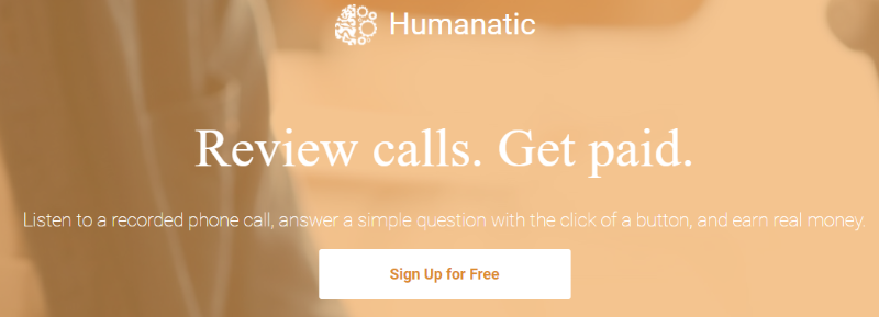 Humanatic review calls get paid