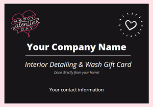 Belk Mobile Valentine's Day gift card template