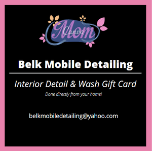 Belk Mobile Detailing Mother's Day gift card