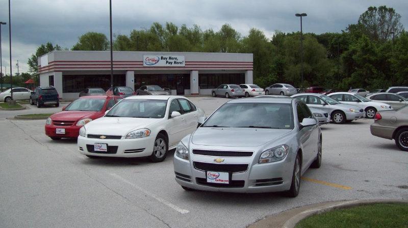 CarHop dealership car lot