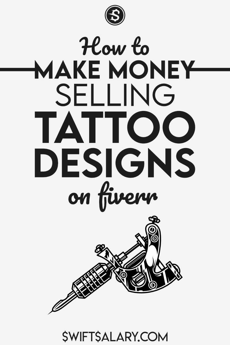How she made $472 selling tattoo designs on Fiverr