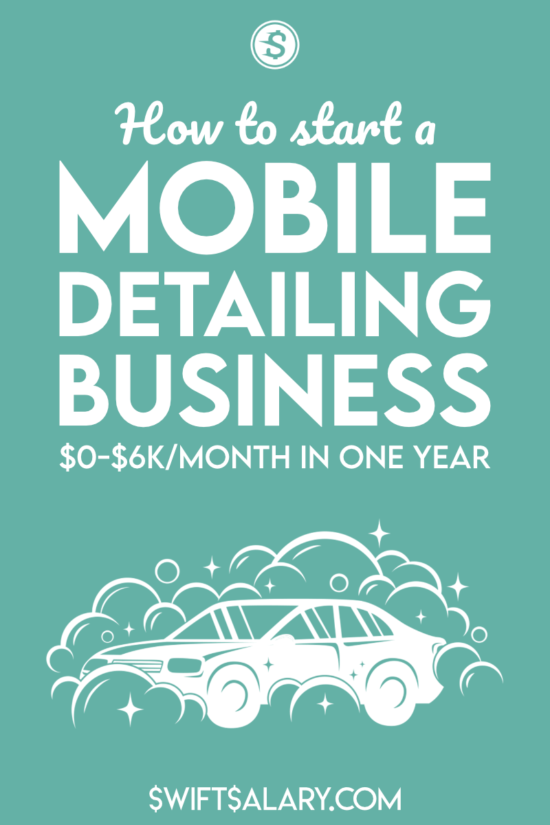How to start a mobile detailing business