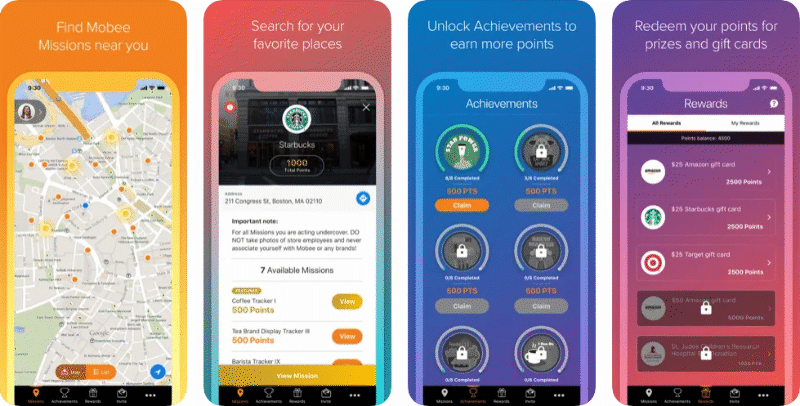 Mobee app preview