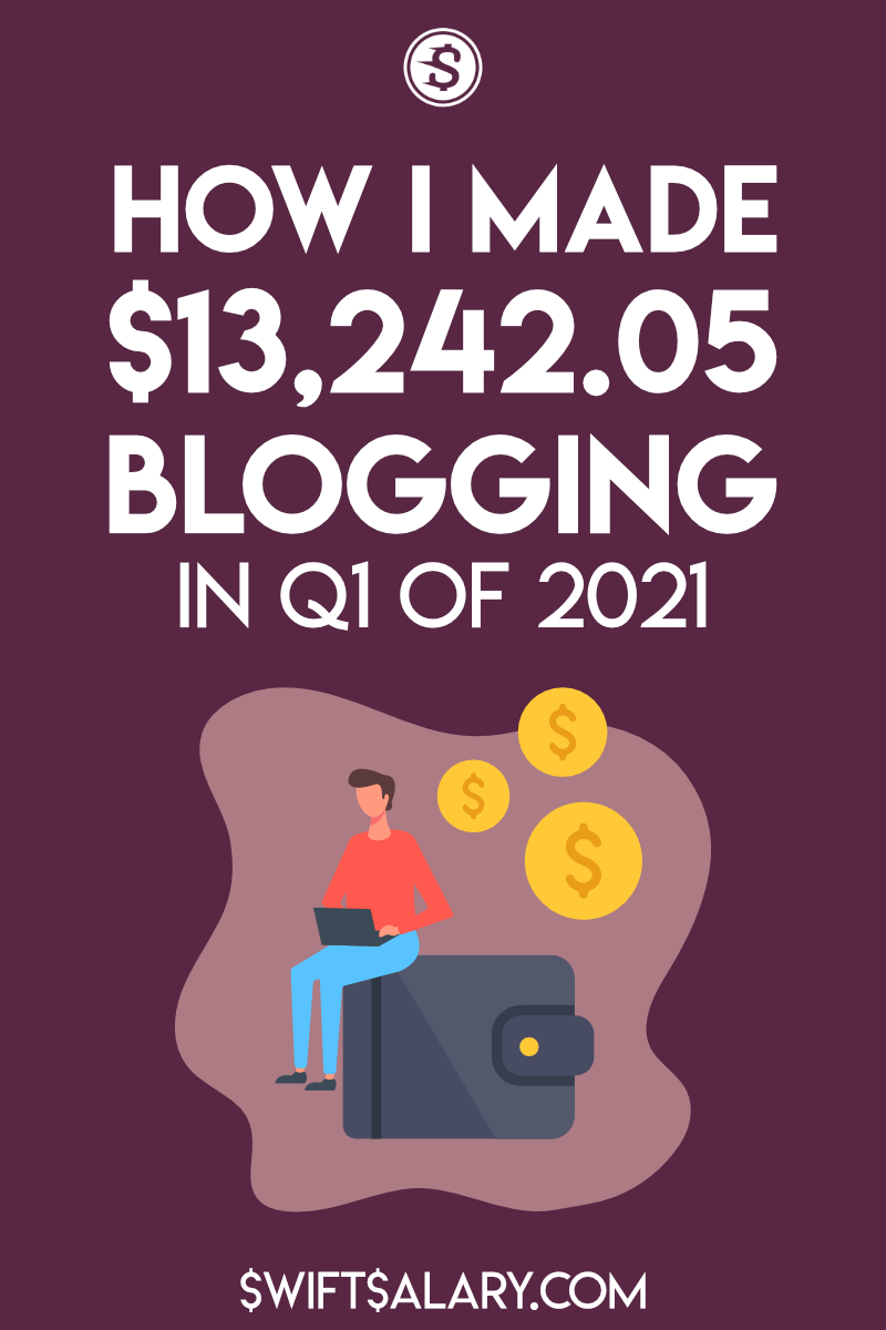 How I made $13,242.05 blogging in Q1 of 2021