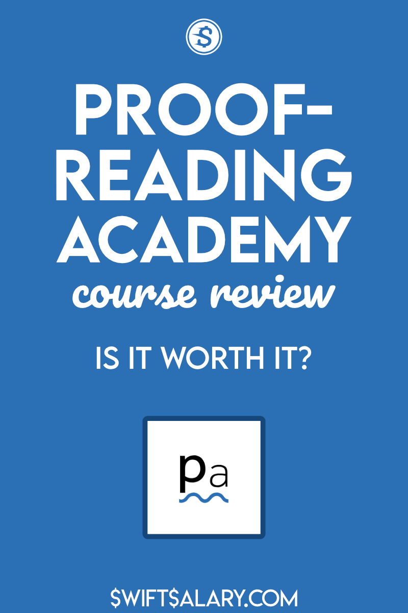 Proofreading Academy review: is it worth it?