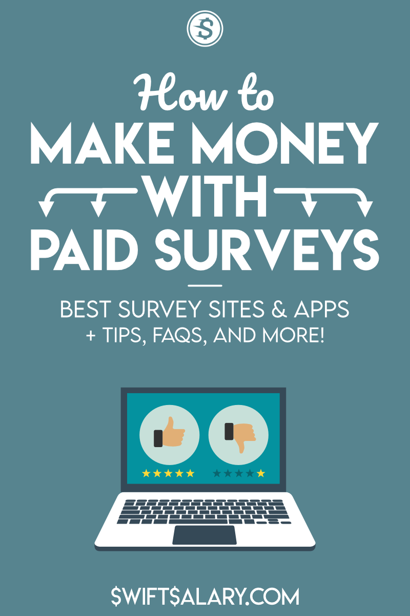 How to make money with paid surveys - Best survey sites and apps