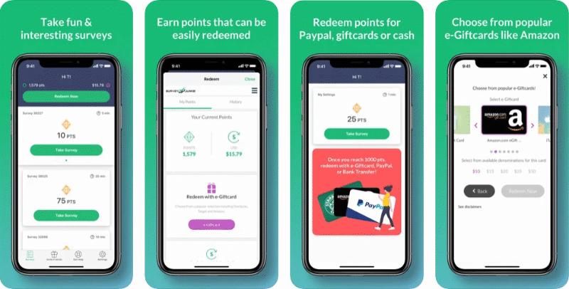 Survey Junkie app preview