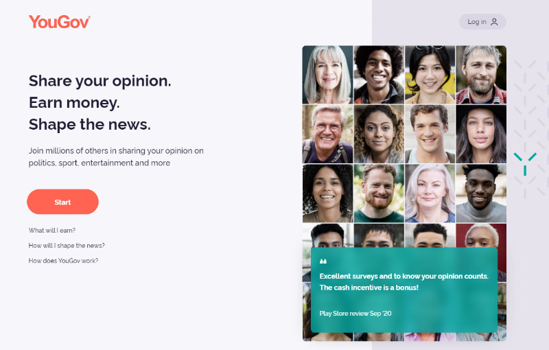 YouGov share your opinion earn money