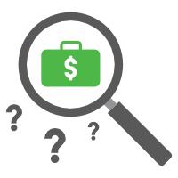 hustle finder magnifying glass